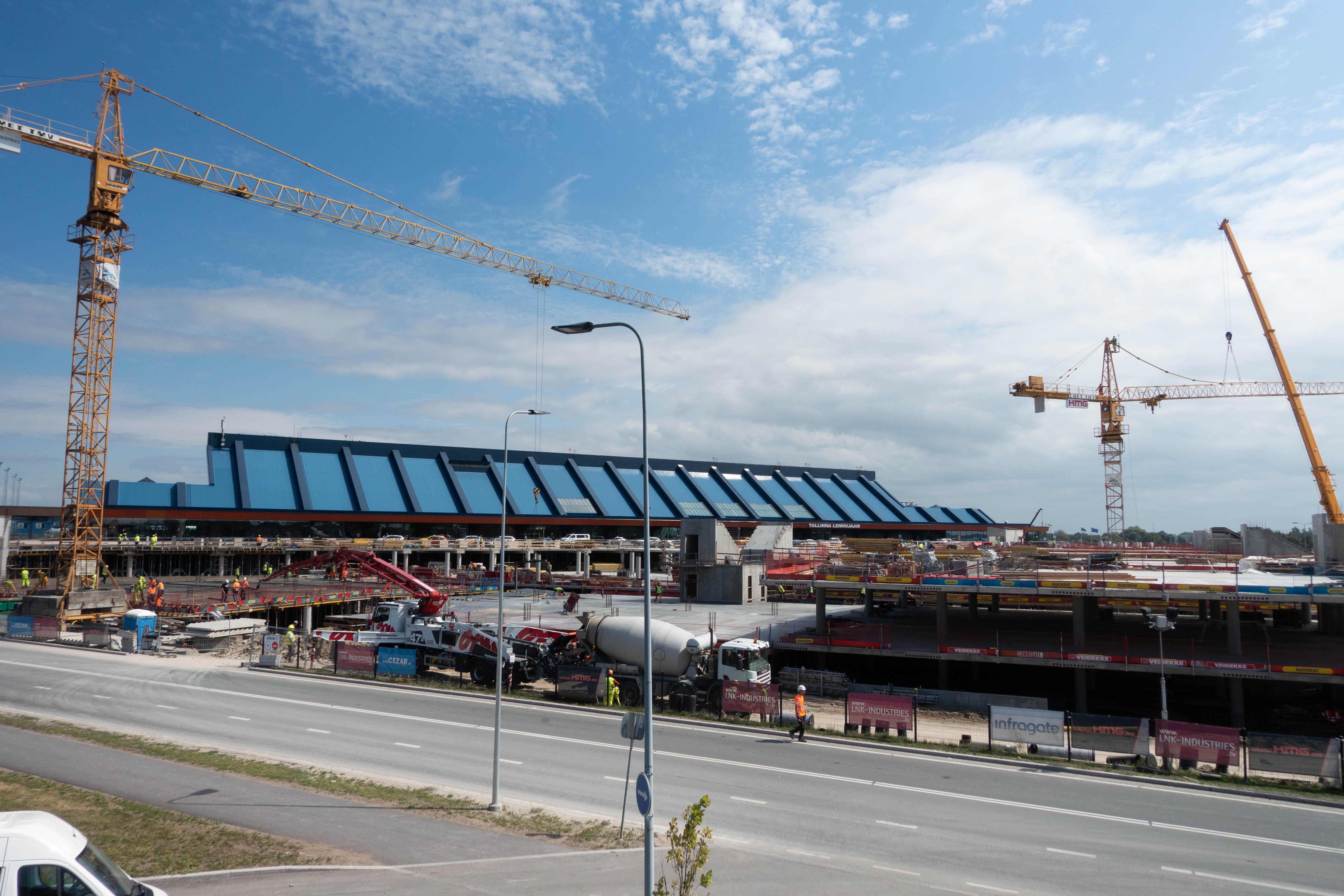 Tallinna Lennujaama parkimismaja