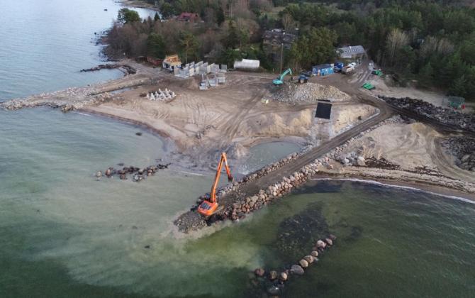 Salmistu sadama rekonstrueerimine